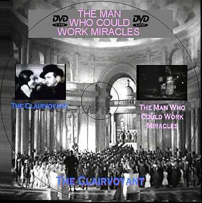 The Man Who Could Work Miracle (1936)  + The Clairvoyant (1935)