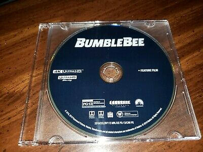 New 2019 Transformers Bumblebee 4K UHD Blu Ray Disc Only