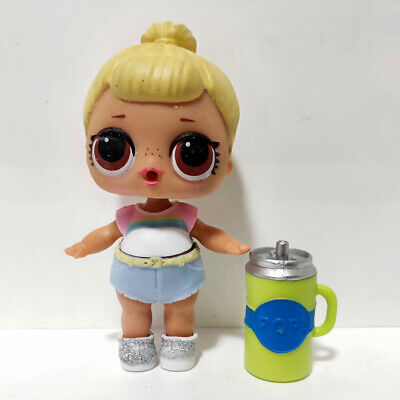 lol doll Big Sister Serie 1-023 Yellow Hair DIY White clothes Kids Birthday Gift