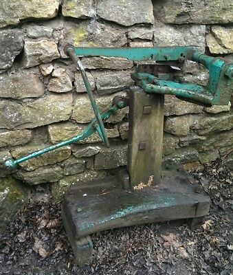 Old Metal Guillotine