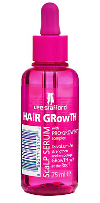 Lee Stafford Hair Growth Scalp Serum Treatment 75ml Boosts Growth at Root NEW