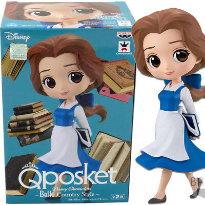 Banpresto Qposket Disney Characters Beauty and the Beast Belle Country Style (A)