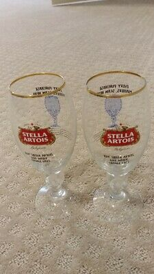 Set of 2 - Stella Artois 40CL Pour It Forward Chalices - 2019 Limited Edition