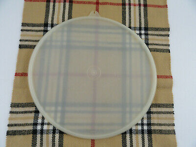 "Tupperware 1203 9"" Sheer Lid Cover Replacement W Seal"