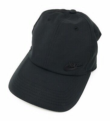 competitive price f2aa4 af8bf Black Nike Heritage86 Hat One Size, Strapback