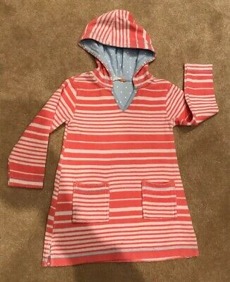77a68ce90 GORGEOUS MULTICOLOURED JOHN Lewis Girl Hooded Towel/ Poncho. Age 4 ...