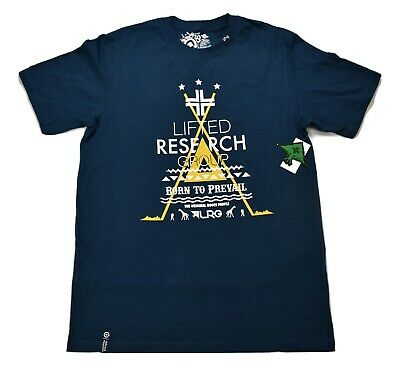 LRG Lifted Research Group Mens Born To Prevail Shirt NWT M