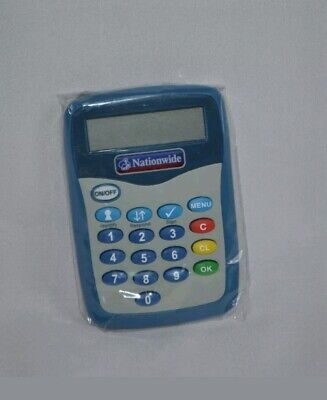 Nationwide Pinsentry Bank Card Reader PIN Security Barclays Natwest