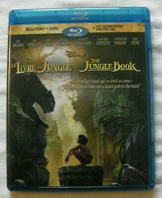 The Jungle Book - Live Action (Blu-ray, Disney) DVD / Digital are not included