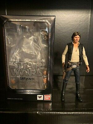 Reissue Bandai S.H Figuarts Star Wars Episode IV Han Solo A New Hope