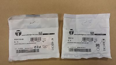 Genuine Trafimet S45 Plasma Torch Tips (Pd0116-08) And Electrodes (Pr0110)