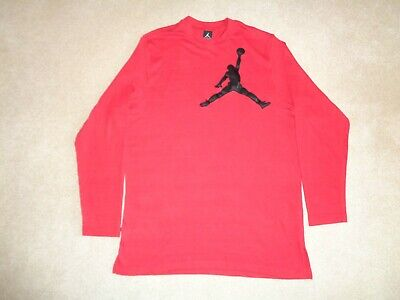 b13f21baa5e NIKE AIR JORDAN #23 Jumpman Logo Long Sleeve Black Graphic Shirt ...