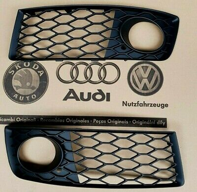 Audi RS4 B7 original Gitter Grill RS Kühlergrill 8E 8H fog light cover grille