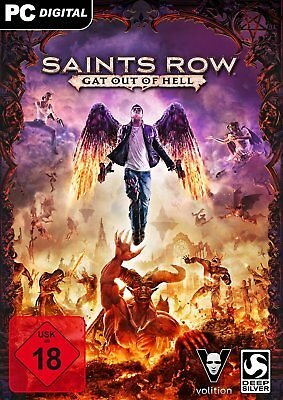 Saints Row: Gat out of Hell + DLC - STEAM KEY - Code - Digital - PC & Linux