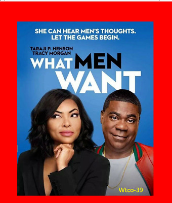What Men Want [DVD] [2019] NEW-Rom Comedy, Fantasy - FREE SHIPPING!!!!