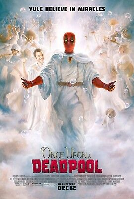 """ONCE UPON A DEADPOOL 11""""x17"""" MOVIE POSTER PRINT #2"""