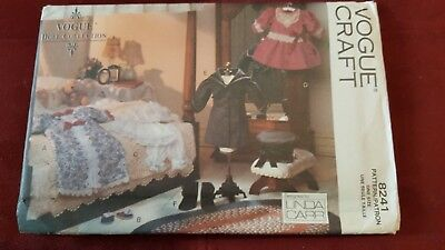 "Vogue Doll Pattern 8241 417 18/"" Girl Clothes Victorian Vintage by Linda Carr"