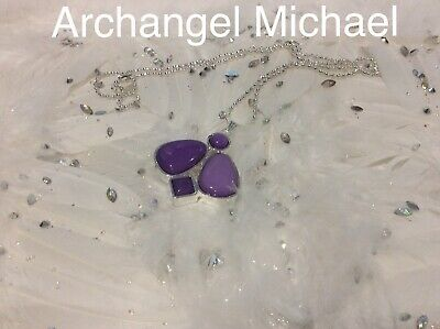 Code 609 Charged n Infused Necklace Archangel Michael Guiding Guardin You