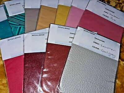100% Top Quality Leather Oblong Elbow Patches/Trimmings - Some Are Limited Stock