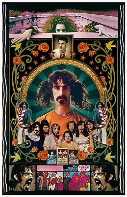 """Frank Zappa 11x17"""" FAN Poster  2-FOR-1 Special Pop Up SALE!  Buy One, Get TWO!"""