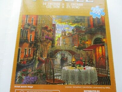 VENICE ITALY AL FRESCO PUZZLE 500 PIECES AGES 9+ 14 x 11 INCHES FACTORY SEALED