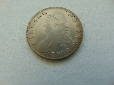 1818 50C Capped Bust Half Dollar