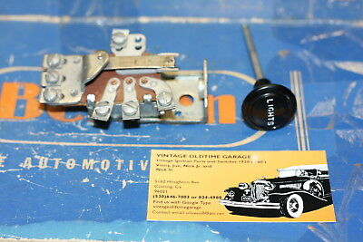 1932,1936,1937,1938,1939,1940,1941,1946,Chevrolet,Olds,Buick,Headlight Switch