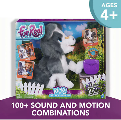 *FurReal Ricky the Trick-Lovin Pup Interactive Toy 100+ Sound & Motion Combos
