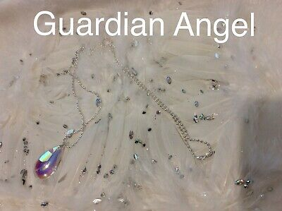 Code 611 Charged n Infused Stunning Guardian Angels Necklace