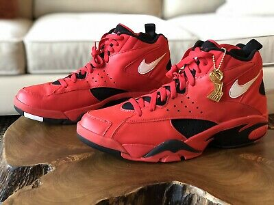 new style 82b7d 6ba25 DS Nike Air Maestro 2 QS Trifecta size 12 red black white pippen ii AJ9281-