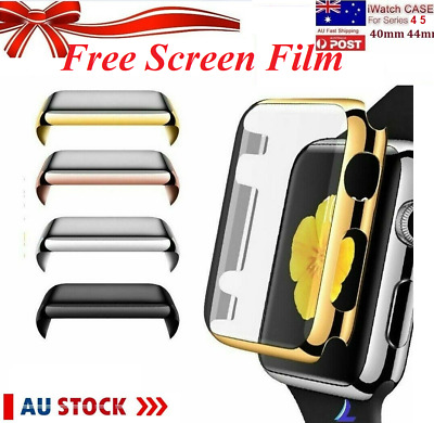 Full Cover Case For Apple Watch Series 3,2 1+Built In iWatch Screen Protector