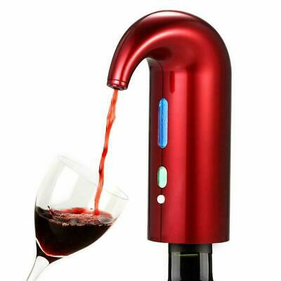 Electric Smart Automatic USB Rechargeable Wine Aerator Decanter Pourer Dispenser