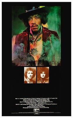 FABRIC POSTER 30x40 WALL HANGING ELECTRIC LADYLAND HFL1175 JIMI HENDRIX