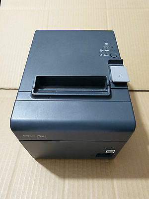 EPSON TM-T20II M267A Thermal Bill Receipt Serial RS232 & USB Printer w/ PSU