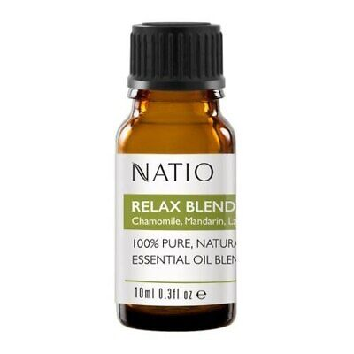Natio relax blend essential oil  100% pure and natural 10ml
