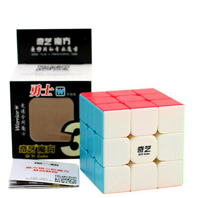 3x3x3 Qiyi Warrior W Speed Magic Cube Ultra-Smooth Professional Puzzle Twist Toy