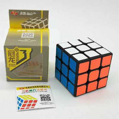 3x3x3 YJ Magic Cube Professional Ultra-smooth Speed Cube Twist Puzzle Kids Toys