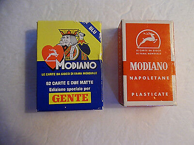 Vintage Italian Playing Cards