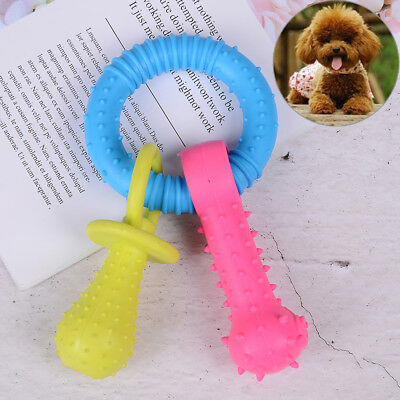 Dog toy rubber molar tooth pet chew toys dogs toys for small dog bite resista Zd
