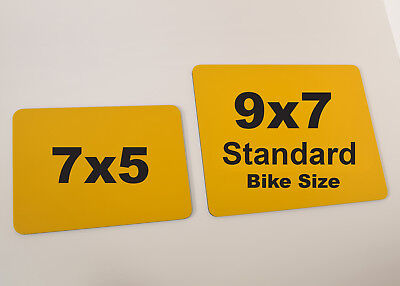 Novelty Fun 7x5 Small Motorcycle Bike Show Sign - Number 1 -  PLATE SELLER