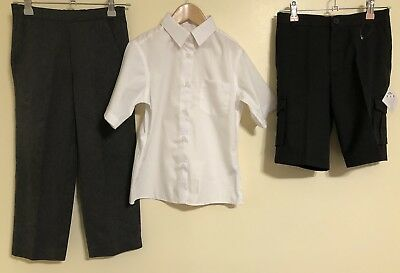 Boys Bundle Of School Uniform Age 6-8 Tu George School Like <D1720