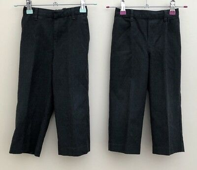 Boys Bundle Of School Trousers Age 3 Tu <D1743