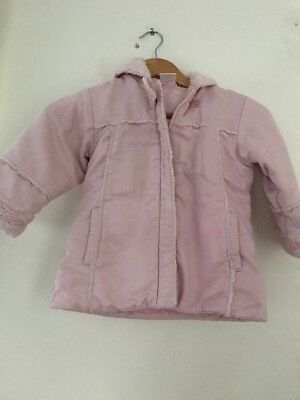 Girls Ladybird Coat 2-3 Years <JJ6087