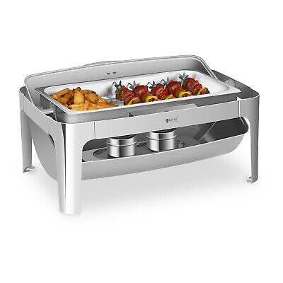 Chafing Dish Rolltop Catering Container Buffet Warmer Gastro Heat Container