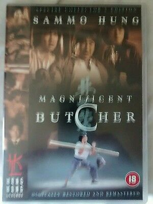 Magnificent Butcher Dvd Sammo Hung Yuen Biao
