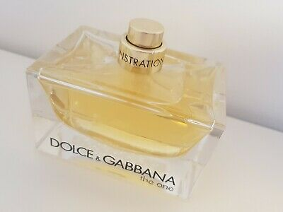 Dolce&Gabbana the one 75 ml edp **demonstration** NEW & GENUINE