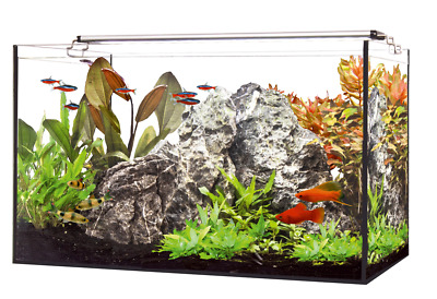 HAPPET LED AQUARIUM SET 60 inkl.LED Beleuchtung, Filter, Heizer 60 x 30 x 35 cm