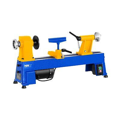 Woodworking Lathe Wood Turning Machine Variable Speed Adjustable Tailstock 470Mm