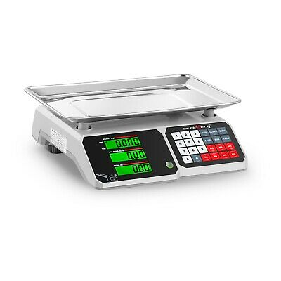 Price Calculating Scale Shop Scale Industrial Scale Lcd Display 30Kg 34.1X24.1Cm