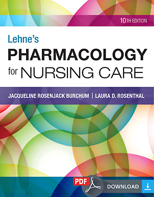 Lehne's Pharmacology for Nursing Care 10th Edition (p d f)